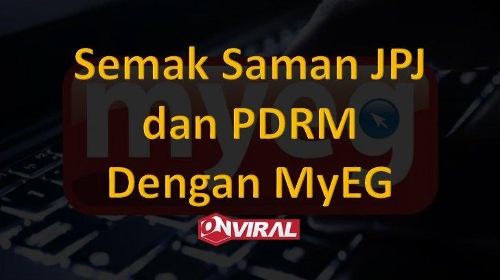semak saman JPJ,PDRM dan AES