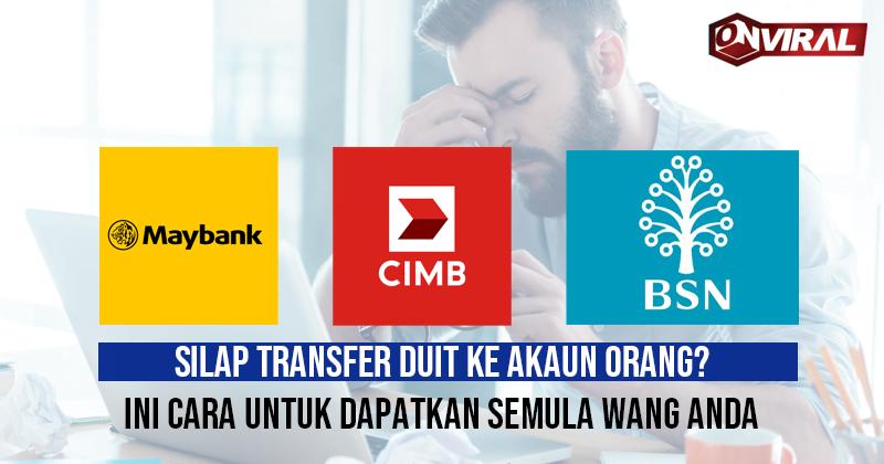 silap transfer duit