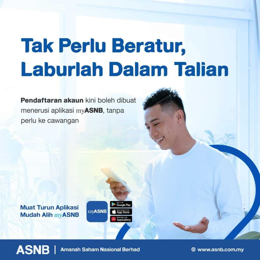 Buka Akaun ASB Online